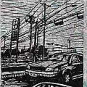 Burnet Road Art Print by William Cauthern