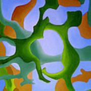 Bush Tango 12 Art Print