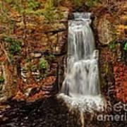 Bushkill Main Falls Art Print