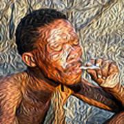Bushman Art Print