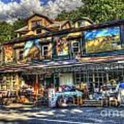 Business Near Thomas Wv Art Print
