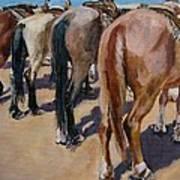 Butt A Horse Of Course Art Print