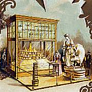 Butter Trade Card, C1880 Art Print by Granger