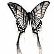 Butterfly Tears 2 Art Print