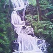 Buttermilk Falls Art Print