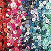 Button Button Art Print