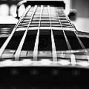 Bw Guitar Art Print