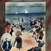 By The Beautiful Sea, 1914 Art Print
