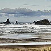 By The Sea - Seaside Oregon State  Art Print