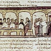 Byzantine Philosophy School Art Print by Granger