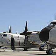 C-2a Greyhound Aircraft Start Art Print