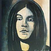 C. J. Ramone The Ramones Portrait Art Print by Kristi L Randall