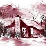 Cabin2 Art Print