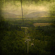 Cable Cars Art Print