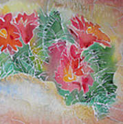 Cactus Art Art Print by M C Sturman