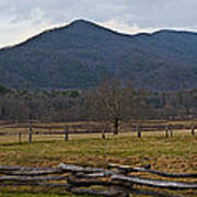 Cade's Cove - Smoky Mountain National Park Art Print