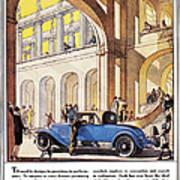 Cadillac Ad, 1927 Art Print