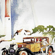 Cadillac Ad, 1929 Art Print