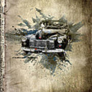 Cadillac Aldham Art Print