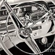 Cadillac Control Panel Art Print