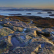 Cadillac Mountain And Frenchman's Bay Art Print