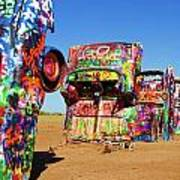 Cadillac Ranch 2  Art Print