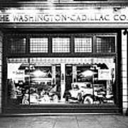 Cadillac Storefront, 1927 Art Print