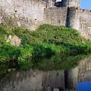 Cahir Castle, River Suir, County Art Print