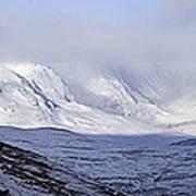 Cairngorms Plateaux, Scotland Art Print