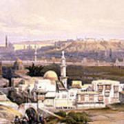 Cairo From The Gate Of Citizenib  Looking Toward The Desert Of Suez Art Print