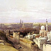 Cairo From The West Art Print