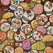Calaveras Azucar Y Pan Dulce Art Print