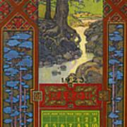 Calendar, 1923 Art Print