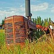 Calgary Tractor Art Print