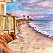 California Coast Art Print