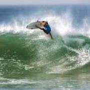 California Surfing 1 Art Print