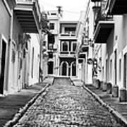 Calle De Guijarro Art Print