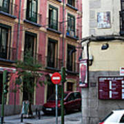 Calle De Vergara Madrid Art Print