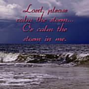Calm The Storm  Art Print