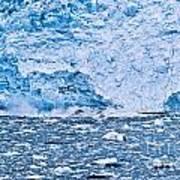 Calving Glacier Art Print