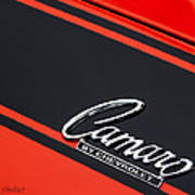 Camaro By Chevrolet Art Print