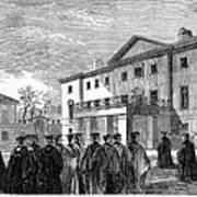 Cambridge University, 1862 Art Print