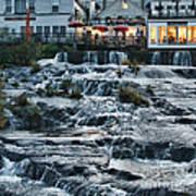 Camden Maine Waterfalls Art Print