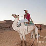 Camel Riders Art Print