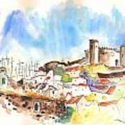 Campo Maior In Portugal 02 Art Print