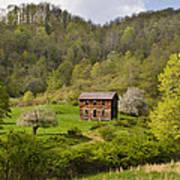 Canaan Valley West Virginia Cabin Art Print