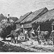 Canada: Farming, 1883 Art Print