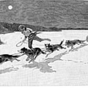 Canada: Fur Trade, 1892 Art Print