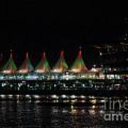 Canada Place Convention Center Art Print