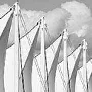 Canada Place Sails Art Print